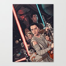The Force Awakens - Movie Poster Canvas Print