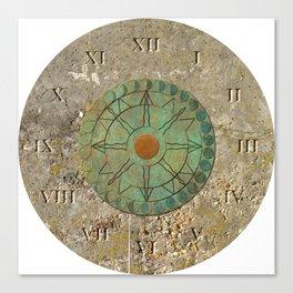 Sundial 01 Canvas Print