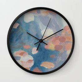 Abstract Landscape, Wading Wall Clock
