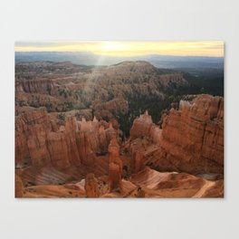 Bryce Amphitheater Canvas Print