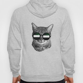 Funny Cat Shirt -  United Arab Emirates Hoody
