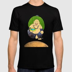 total peace buddha Mens Fitted Tee Black SMALL