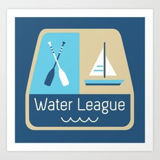 Water League Art Print