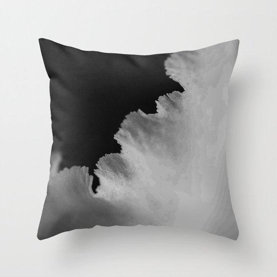 On The Edge Throw Pillow