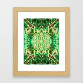The Heart's Brain Framed Art Print