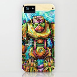 The Atlantean Relic iPhone Case