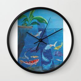 Warmth Deprived Wall Clock