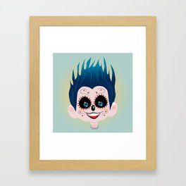 Nuly on the land of the remember  Framed Art Print