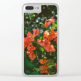 Tropical Hawaii IV Clear iPhone Case