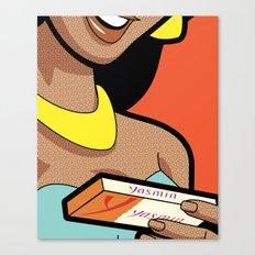Pleasure Control Canvas Print