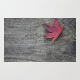 Red Leaf Rug