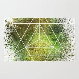 Star Tetrahedron the Merkaba Vehicle of Light Rug