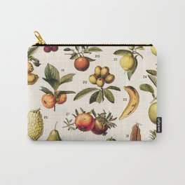 Adolphe Millot - Fruits exotiques - French vintage botanical illustration Carry-All Pouch