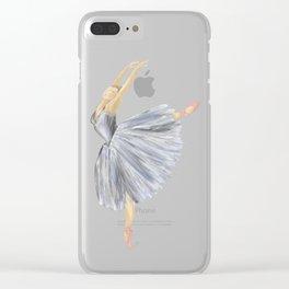 Giselle Ballerina Clear iPhone Case