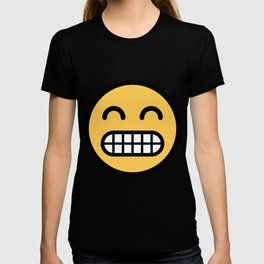 Smiley Face   Grinning Full Teeth Tooth Face T-shirt