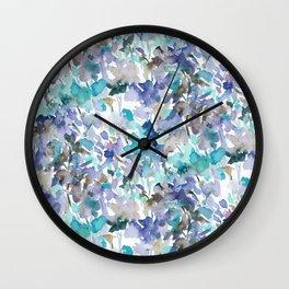 Local Color Blue Mint Wall Clock