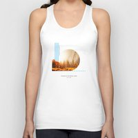 parks Tank Tops featuring National Parks: Yosemite by Roadtrippers