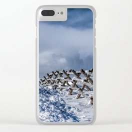 A Road Less Traveled Clear iPhone Case