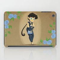 transistor iPad Cases featuring Retro Sailor Star Fighter by Crimson Pumpkin