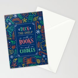 Deck The Shelf Stationery Cards