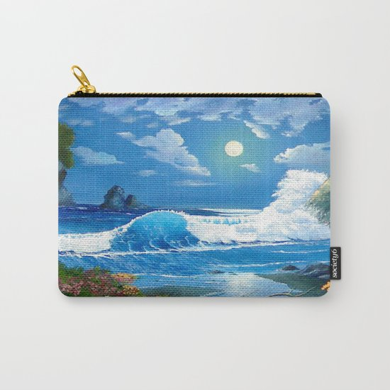 Sea Landspace Carry-All Pouch