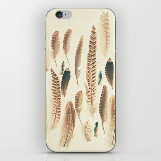 Found Feathers iPhone & iPod Skin