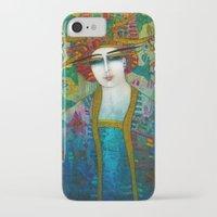 aquarius iPhone & iPod Cases featuring AQUARIUS by ALBENA