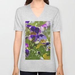 flower meadow Unisex V-Neck