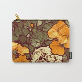 Orange Geranium, Plant of Feminine Healing Carry-All Pouch