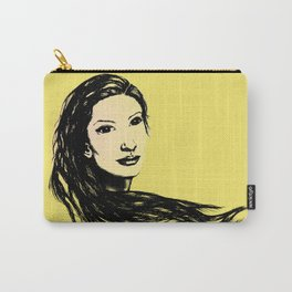Flow (Yellow) - Digital Carry-All Pouch