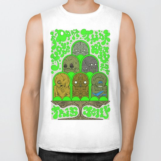 I Don't Think You're Ready for This Jelly Biker Tank