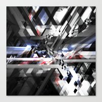 sonic youth Canvas Prints featuring Sonic by Subcon