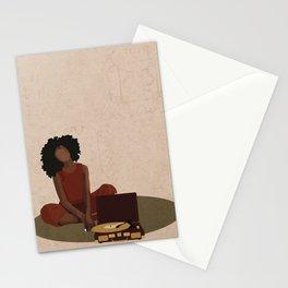 Music Box Stationery Cards