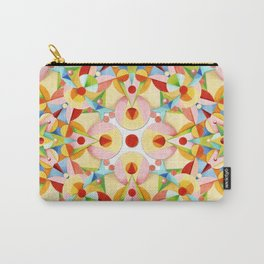 Pastel Carousel II Carry-All Pouch