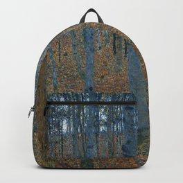 Gustav Klimt - Beech Grove Backpack