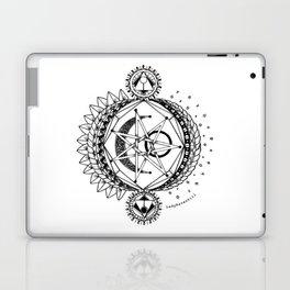 Sun Moon and Stars Laptop & iPad Skin
