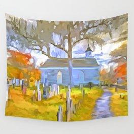 Pop Art Church Wall Tapestry