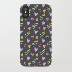 Rosewall love Slim Case iPhone X