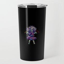 Scary Doll Travel Mug