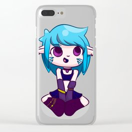 Woodland Elf Clear iPhone Case
