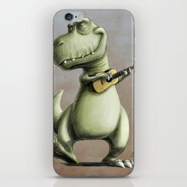 Rockin' Out With A Ukelele iPhone Skin