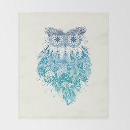 Blue Dream Catcher Throw Blanket