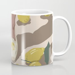 dern nature Lemon ice cream Enjoy the summer heat Wild feet Coffee Mug
