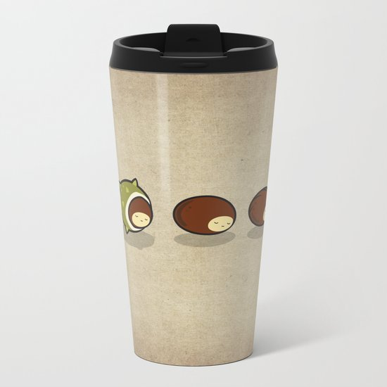 Let There Be Hedgehogs Metal Travel Mug