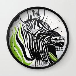 Zebra Streetstyle Wall Clock
