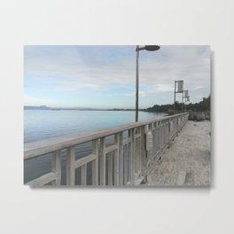 ormoc sea boardwalk Metal Print