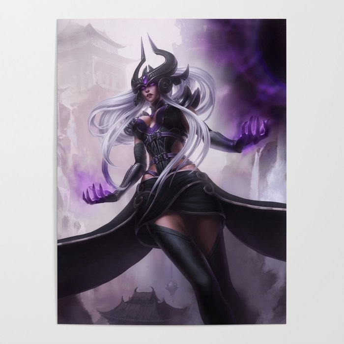 271edc780 Classic Syndra League of Legends Poster by amumus | Society6