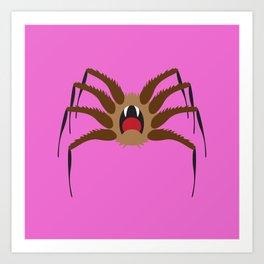 Itsy Bitsy Spider Ralph Art Print