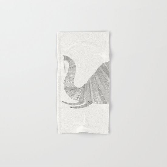 Elephant Hand & Bath Towel