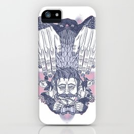Flap Your Hands iPhone Case
